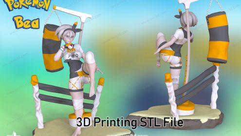 Bea pokenmon 3D Model STL