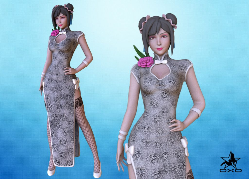 Tifa 3D Print STL - Final Fantasy VII Remake