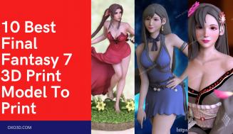 10 Best Final Fantasy 7 3D Print Model To Print